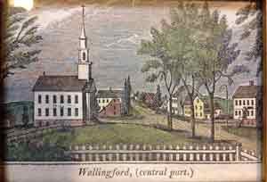 Wallingford 1836 Woodcut photo
